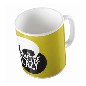 Kubek Black Shake Don't Be Lazy, 330ml
