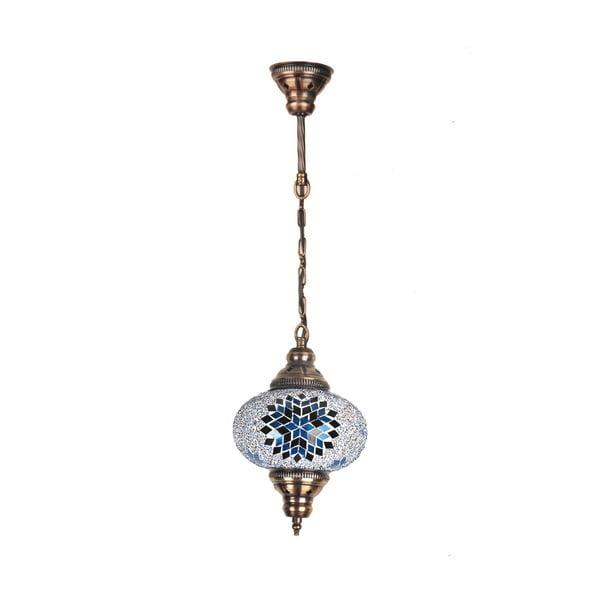 Szklana lampa wisząca Single IV, 17 cm