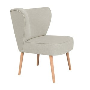 Kremowy fotel BSL Concept Pearson