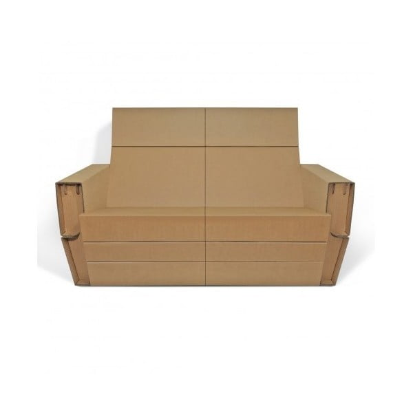 Kartonowa sofa Coucher