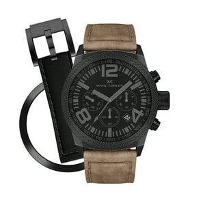 Zegarek unisex Marc Coblen z dodatkowym paskiem i obręczą P62