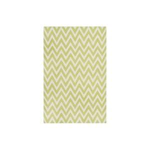 Wełniany dywan Nelli 121x182 cm, zielony