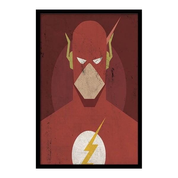 Plakat Red Flash, 35x30 cm