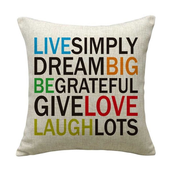 Poszewka na poduszkę Livesimply, 45x45 cm