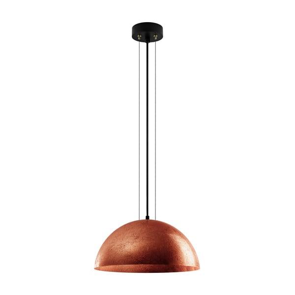 Lampa wisząca w kolorze miedzi Bulb Attack Cuatro, średnica 40 cm