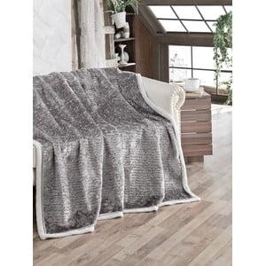 Koc Fluffy Grey, 200x220 cm