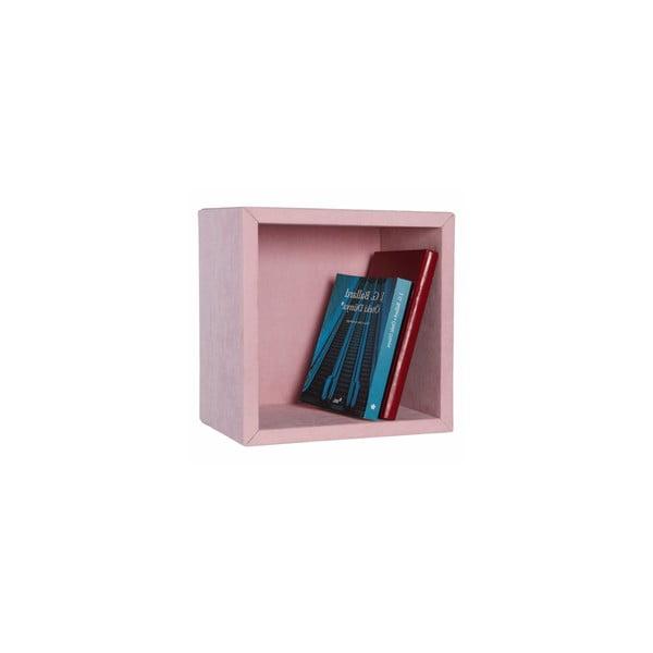 Półka wisząca Silky, różowa