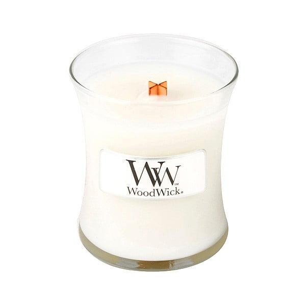 Świeczka zapachowa WoodWick Świeże pranie 85g, 20 godz. palenia