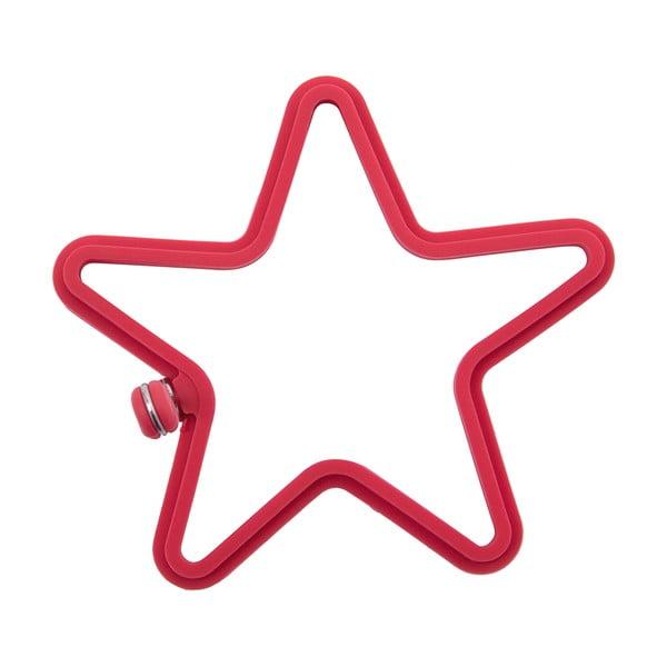 Silikonowa forma w kształcie gwiazdy do jajek sadzonych Krauff