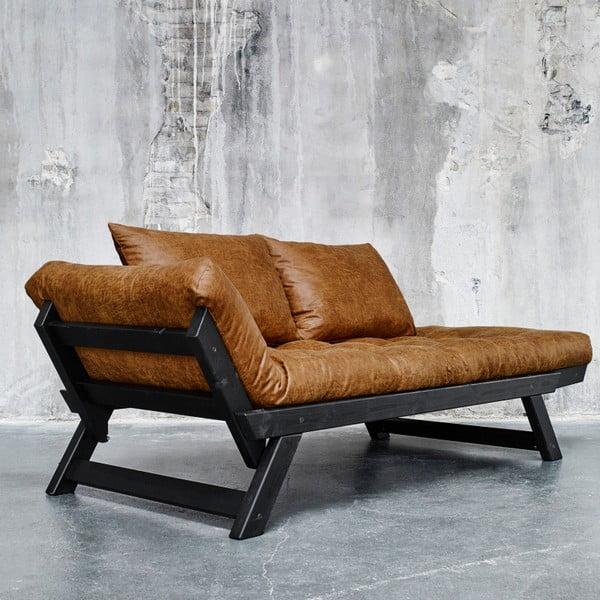 Sofa Karup Vintage Bepop Black/Cognac