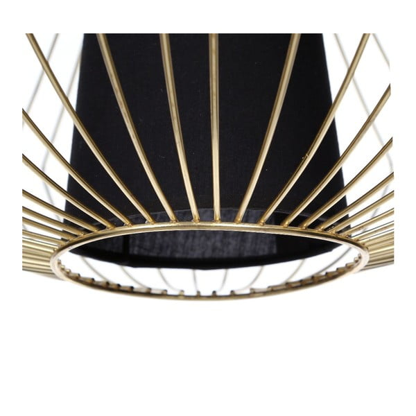 Lampa sufitowa Golden Cage, 57x71,5 cm