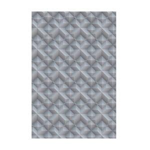 Winylowy dywan Origami Gris, 70x100 cm