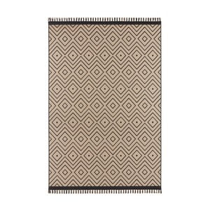 Beżowo-czarny dywan Hanse Home Intense Sulo, 80x150 cm