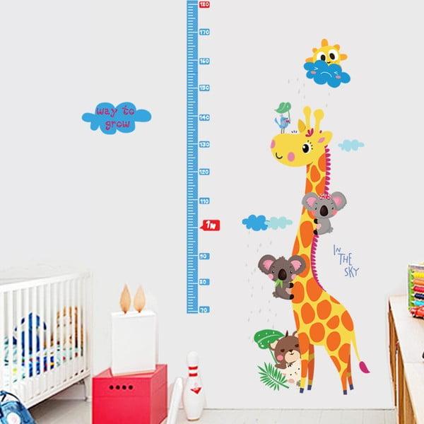Naklejka - miarka wzrostu Fanastick Giraffe