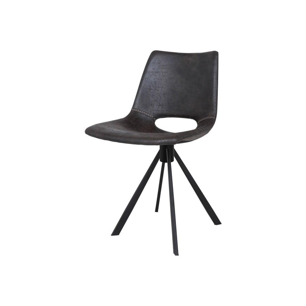 Ciemnoszare krzesło Canett Coronas