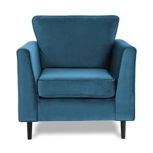 Niebieski fotel Vivonita Portobello
