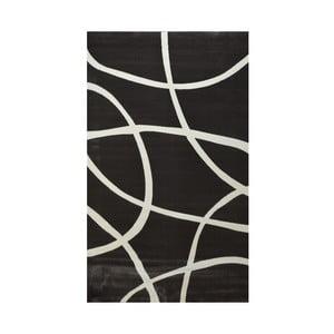 Ciemnobrązowy dywan Webtappeti Round, 160x230cm