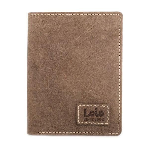 Skórzany portfel Lois Simple, 11x8 cm