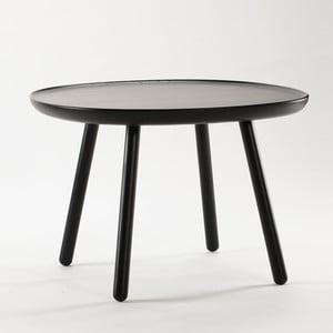 Czarny stolik z litego drewna EMKO Naïve Large