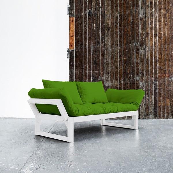 Sofa Karup Edge White/Lime