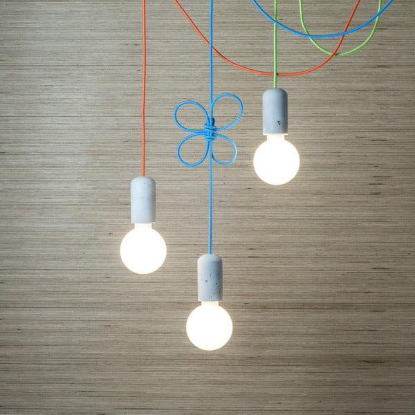 Lampa Jakuba Velínskiego - ciemnoszare włókno włókno, 3 m