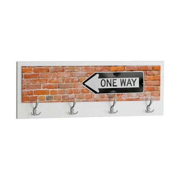 Wieszak One Way, biały