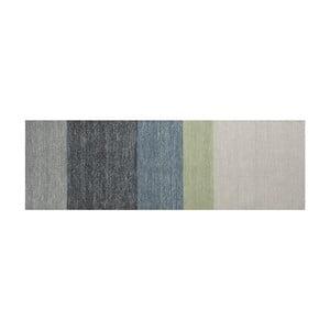 Wełniany dywan Poraka Green, 80x250 cm