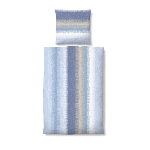 Pościel Biber Komfort Stripe Blue, 135x200 cm