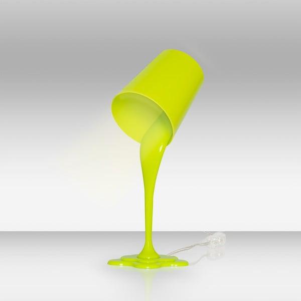 Zelená lampa stołowa Homemania Ximena