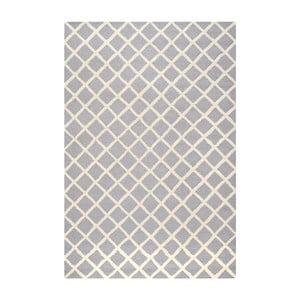 Dywan wełniany Sophie Light Blue Grey, 152x243 cm