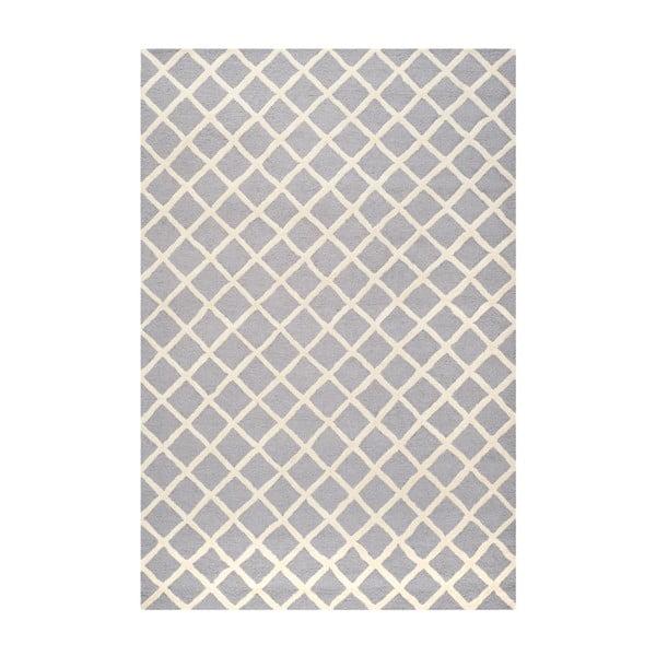 Dywan wełniany Sophie Light Blue Grey, 182x274 cm