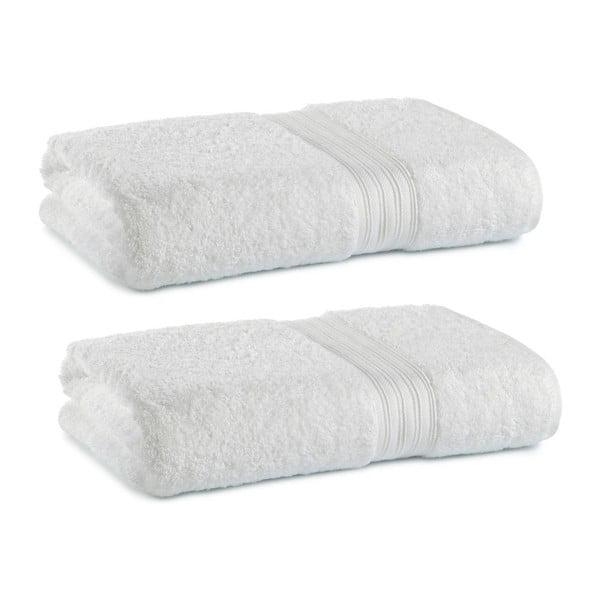 Zestaw 2 ręczników Indulgence Victoria White, 41x71 cm