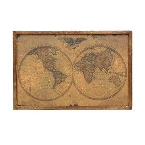 Obraz Duo Maps, 60x40 cm