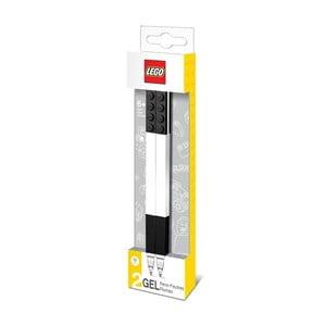 Komplet 2 czarnych długopisów żelowych LEGO®