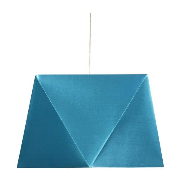 Lampa sufitowa Hexagen, turkusowa