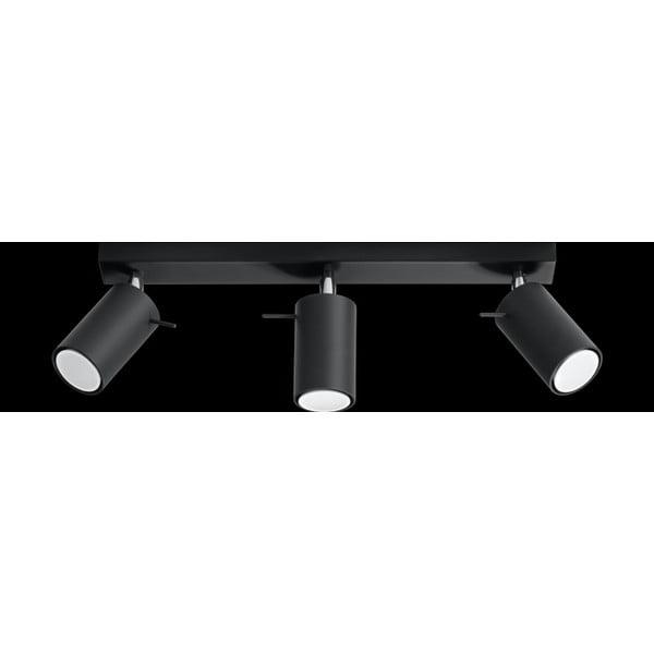 Czarna lampa sufitowa Nice Lamps Ethna 3