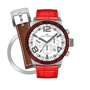 Zegarek damski Marc Coblen z dodatkowym paskiem i obręczą P74