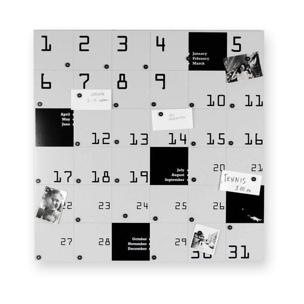 Kalendarz magnetyczny Remember, 80x80 cm
