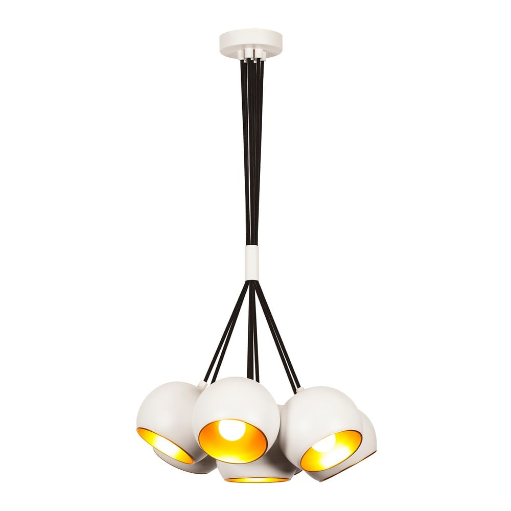 Biała lampa wisząca Opviq lights Sivani