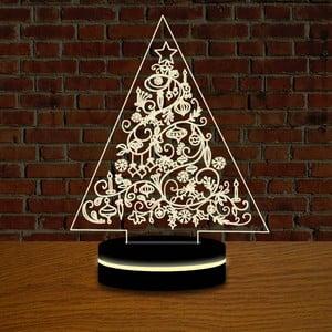 Lampa z efektem 3D Christmas no. 9