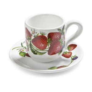 Zestaw filiżanek na herbatę ze spodkiem Fade Fragole, 2 szt.