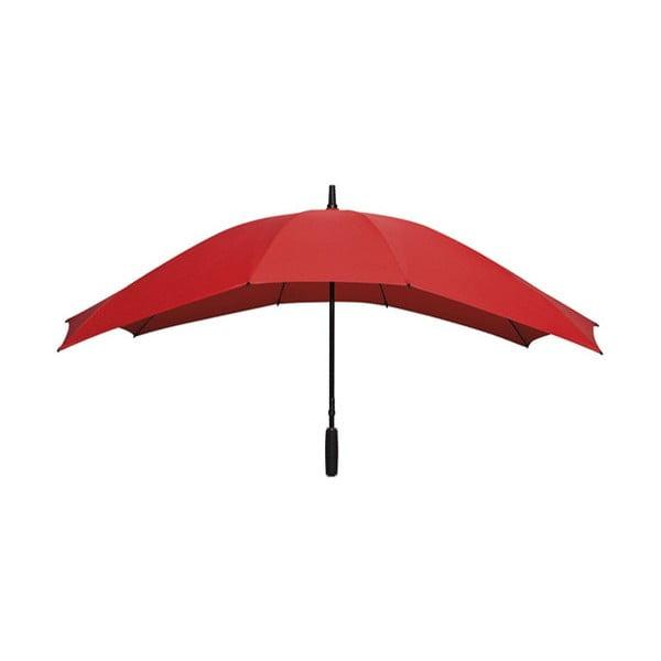 Czerwony parasol dla 2 osób Ambiance Falcone Red