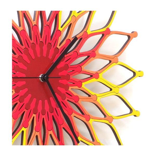 Zegar drewniany Fireworks , 41 cm