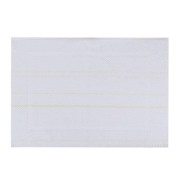 Biały dywanik łazienkowy Betty,50x70cm