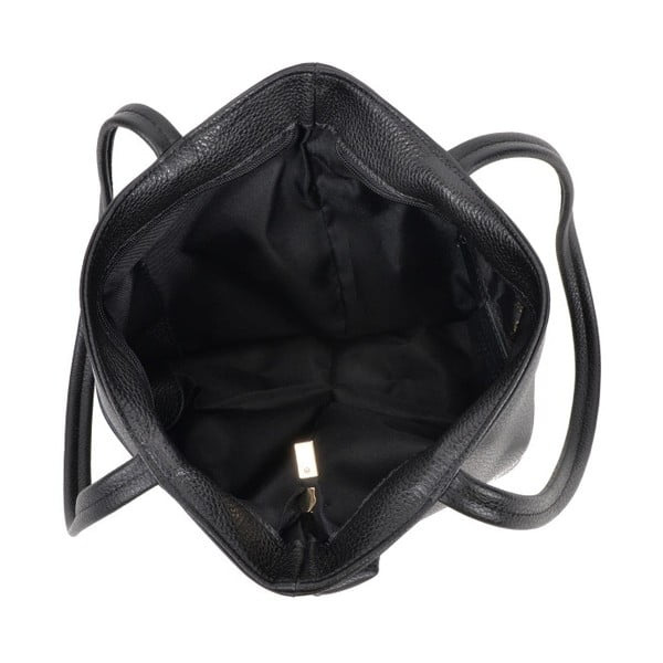 Czarna torebka skórzana Roberta M Huniya Nero