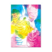 Plakat Yellow Flowers Archival, 30x42 cm