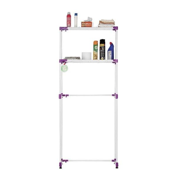 Półka uniwersalna z fioletowymi elementami Bonita Spacio