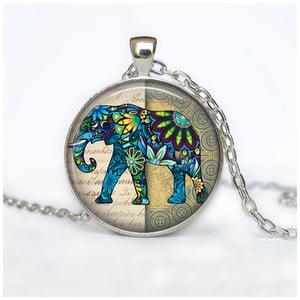Damski łańcuszek z wisiorkiem Butoni de Camasa Happy Hippie Elephant