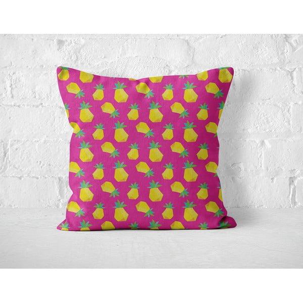 Poduszka Pink Ananas, 40x40 cm