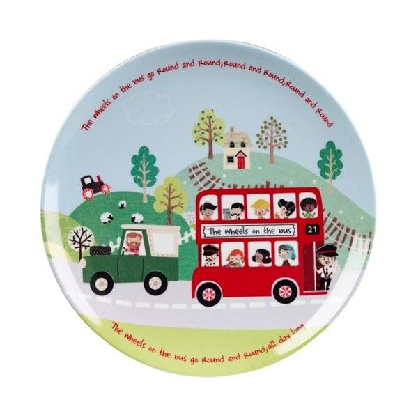 Zestaw śniadaniowy dla dzieci Churchill China China Bus, 3 szt.